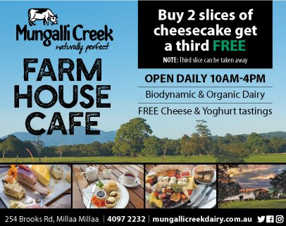 Mungalli Creek Farmhouse Cafe